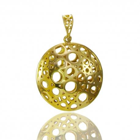 Золотой кулон (П0695)