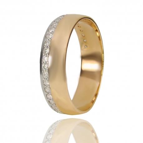 Золотое обручальное кольцо (К1337)